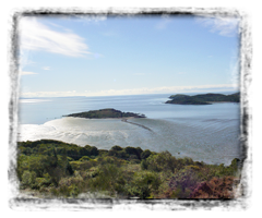 Rockcliffe Bay from The Muckle hill